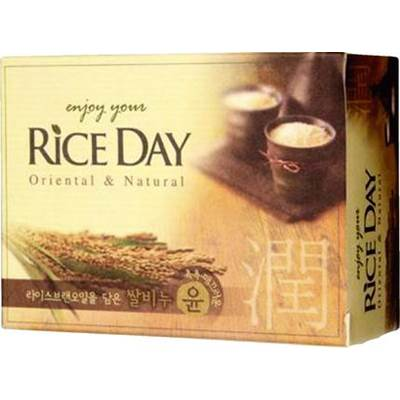 Мыло туалетное CJ LION Rice Day Oriental and Natural, 100г